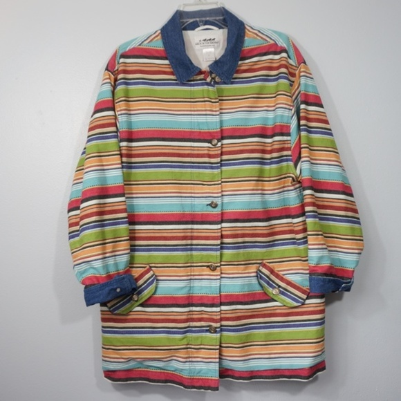 Back In The Saddle Jackets & Blazers - Back In The Saddle Striped Jacket XL